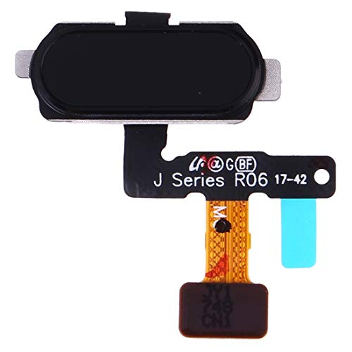 DaiMai Sensor de huellas dactilares Flex Cable para Galaxy J5 (2017) SM-J530F/DS SM-J530Y/DS (Negro) WH (Color: Negro)