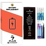 ultrapower100® batería Compatible con iPhone 7 Plus | Original Capacidad 2910 mAh| producción 2019 0 ciclos de Recarga |Incluye Manual y Kit de Juego de Herramientas |Todos APN | Garantía de por Vida
