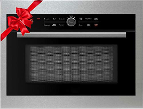 5 in 1 Oven Built In Convection Microwave Oven, Drop Down Door: Grill, Bake, Roast, Toast & Microwave (24', 27', 30' Trim Kits Available)