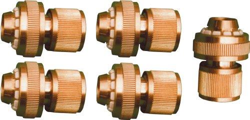 Sirocco 05930324 - Juego de accesorios de conexión para mangueras (0,5