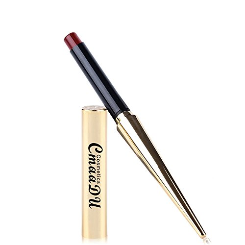 Wasserdichte Langlebige Matte Lipgloss Lippenstift Kosmetik Make up Essbarer Lippenstift