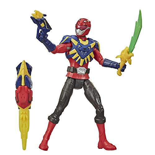 Power Rangers PRG 6IN BMR RED Ranger BK Mode Figure