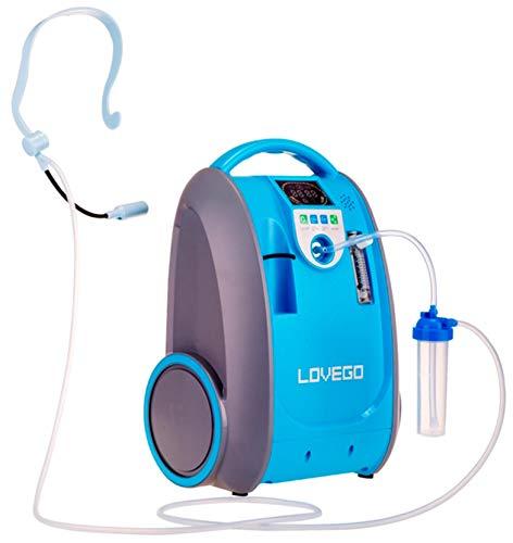 CRONOS Sauerstoffkonzentrator Lovego - 1 bis 5 Liter/Min - Sauerstoffkonzentration 40% - 93% -...