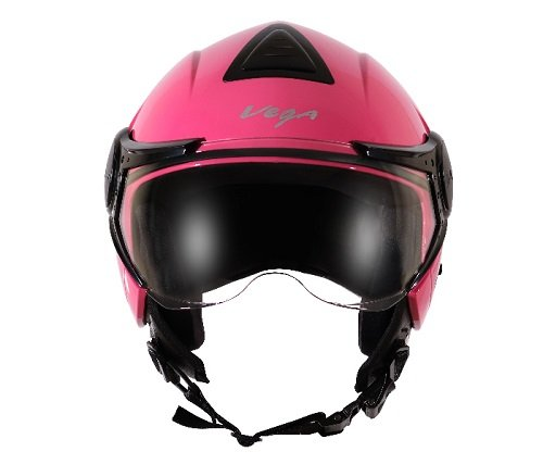 Vega Verve Open Face Helmet (Women's, Pink, M)