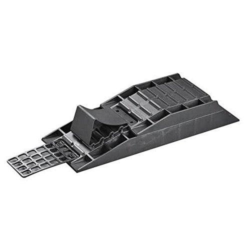 Froli Stufenkeile, Auffahrkeile Wohnwagen Set 4-Teilig (Einheitsgröße) (Schwarz)