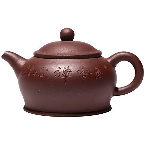 NSSQ Tetera de Arcilla púrpura Huu Hu Zen Pot Single Tea Tetera Kung Fu Traje 1 Paquete (Color : As Shown)
