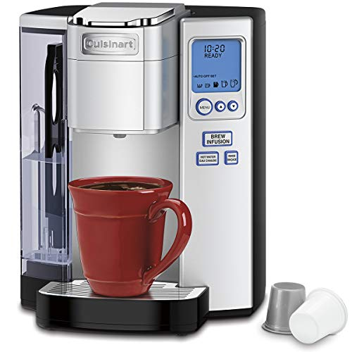 CUISINART SS-10C Premium Single Serve Coffeemaker, Silver