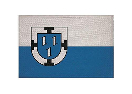 U24 Aufnäher Bottrop Fahne Flagge Aufbügler Patch 9 x 6 cm