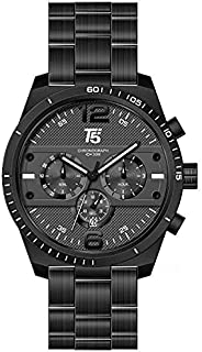 H3520G-D T5 WATCH FOR MEN -STAINLESS STEEL-BLACK