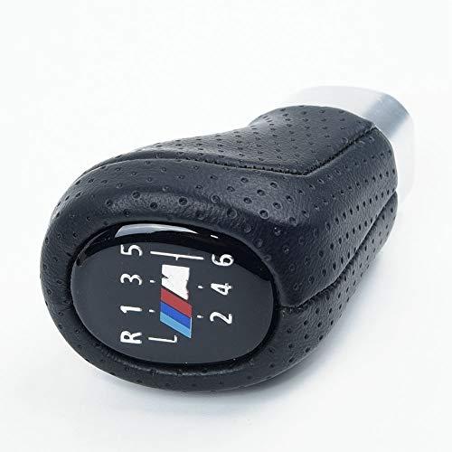 6-Gang Schaltknauf M Sport PU-Leder/passend for BMW E61 E63 E64 E83 E90 E91 E92