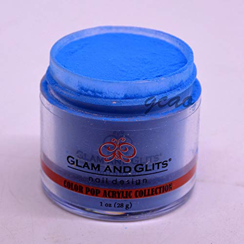 Glam and Glits Color Pop Acrylic Powder, Wet Suit-353, 1 oz