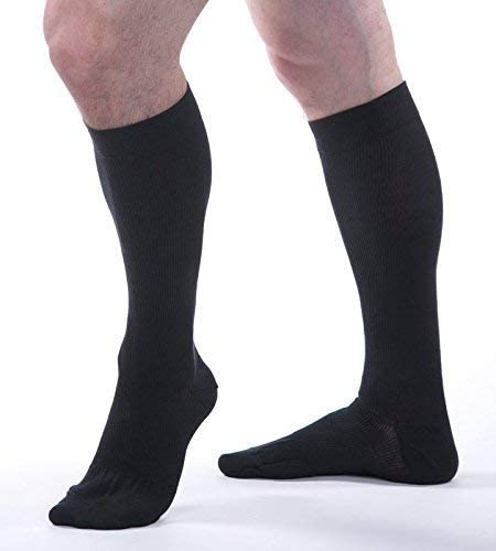 Sale special price Allegro Large discharge sale Unisex 20-30 mmHg Essential Sock Compression 111 Cotton