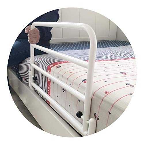 GHHZZQ Todo En Uno Barandillas de Cama Plegable Acero Carbono Mango de Seguridad Durable Ayuda a La Movilidad para Discapacitado Mayor Embarazada (Color : 80cm)