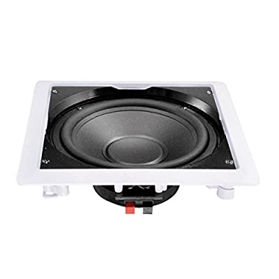 e-audio In-Wall or Ceiling Subwoofer With 10'' Driver 90W 8 ohm from E-Audio