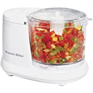 Proctor-Silex Durable Mini 1.5... Proctor-Silex Durable Mini 1.5 Cup Food Processor & Vegetable Chopper for Dicing, Mincing &...