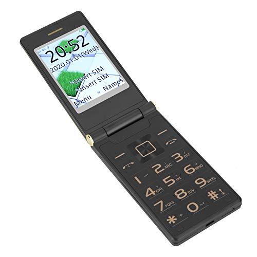 Dpofirs Mobiltelefon mit Flip für ältere Menschen, 3G-Multifunktionstelefon mit...