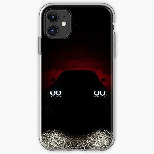 Compatible con iPhone Samsung Xiaomi Redmi Note 10 Pro/Note 9/8/9A Funda Silhouette Challenger Dodge Cajas del Teléfono Cover