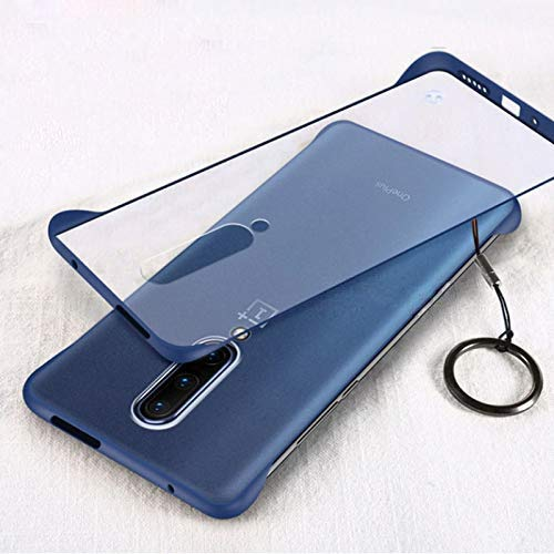 Mobistyle Ultra Thin Frameless Matte Transparent with Ring Buckle Back Cover Case...