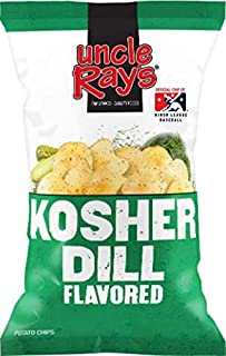 Uncle Ray's Dill Potato Chips - 3 oz. Bag - 12 Pack