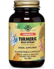 Solgar, Turmeric Root Extract, 60 Vegetable Capsules