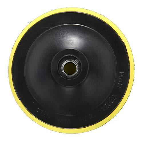SANKUAI LT-Discs, 75/100 / 125mm M14 Adhesive Backing Pad Polieren Polierende Platte Disc Adhesive Backed Haken for Auto-Polierauflage Sander Werkzeuge (Größe : 125mm)