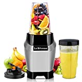 La Reveuse Countertop Blender - Making Shakes and Smoothies 600 Watts-with 20 oz and 24 oz BPA Free...