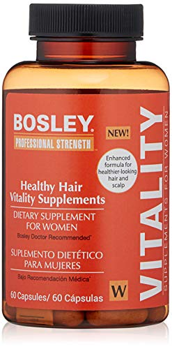 Price comparison product image Bosley Professional Strength Hair Vitality Supplements for Women