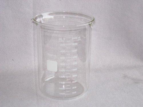 Pyrex Outstanding NEW before selling Glass Beaker - mL 1 2000 Ea.