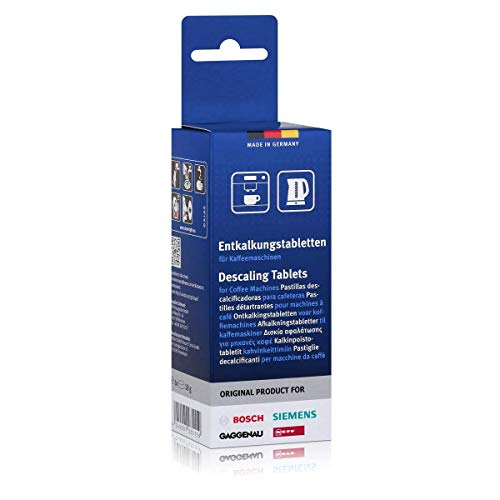 Bosch Siemens Disincrostante compresse Decalcificante Tassimo BSH 310967 311555