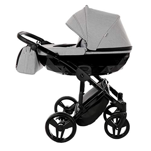 Original Junama Diamond Reisesysteme Kinderwagen 2in1 3in1 4in1 Sonnenschirm + Originalzubehör Exclusive Prams (3in1, 07)