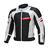 LYSCHY Motorcycle Jacket Motorbike Riding Jacket Pant Waterproof Motorcycle Full Body Protective Gear