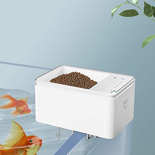 Shyfish Mini alimentador automático de pescado Alimentador de peces automático temporizador inteligente...