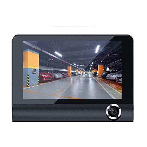 Jessicadaphne Universal Car Dvr 3 Cámaras Lente Cámara de salpicadero Lente Dual con cámara de visión Trasera Grabadora de vídeo Dvrs Dash CAM