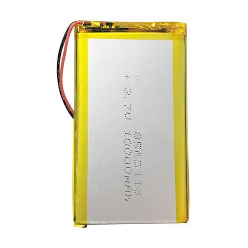 Grehod 3.7V 10000mAh 8565113 Batería Recargable de polímero de Litio Li-Ion Li Po Celdas para Tableta DVD GPS Dispositivo médico PDA E-Book