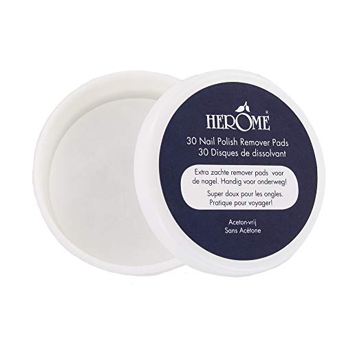 herôme Cosmetics Caring Nail Polish Remover Pads, 1er Pack (1X 42G)