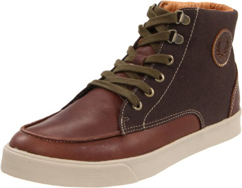 Fred Perry Botines Upchurch Leather/Waxed marrón 40