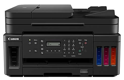 Canon Pixma G7050 Megatank Multifunktionsdrucker, Schwarz, USB, WLAN, LAN, Scan, Kopie