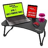 Best Bed Desk - Gizga Essentials Multi-Purpose Portable & Foldable Wooden Desk Review