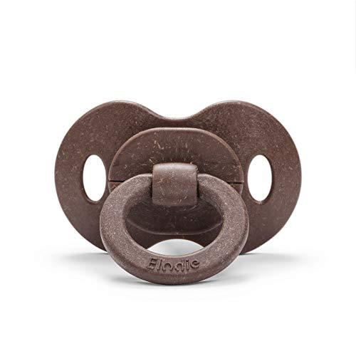 Elodie Details Baby Schnuller aus Bambus ab 3 monaten - KirschForm - Naturkautschuk - Chocolate, Braun
