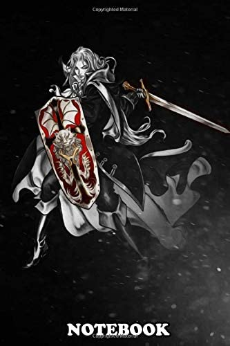 Notebook Alucard From Castlevania Series Journal for Writing College Ruled Size 6 x 9 110 Pages product image