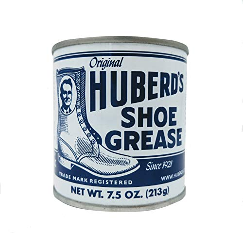 Huberd's Shoe Grease, 7.5oz: Waterproofs, Softens, Conditions Leather. Protects Shoes, Boots, Sporting Goods, Saddle & Tack. Restores Dry, Cracked, Scratched Leather. Small Batched since 1921!