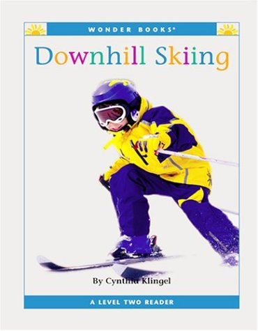Downhill Skiing: A Level Two Reader (Wonder Books Level 2-Sports)