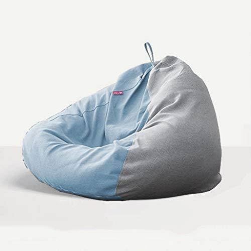 WGYDREAM Sitzsack Highbacks Beanbag Stuhl, Schlafzimmer Faul, Sofa, Stuhl, for Innen- und Außenanwendungen, Spiele Gartenstuhl - 90x115cm Bean Bag (Color : G)