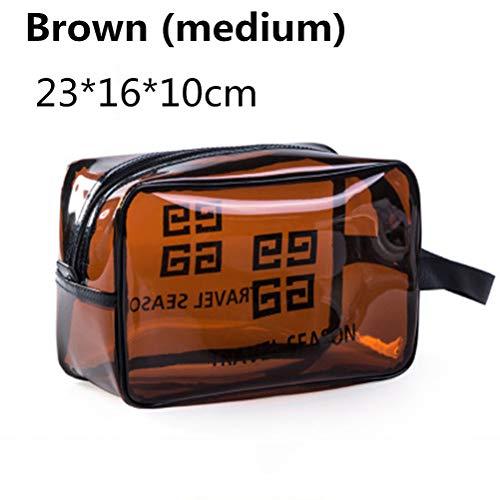 6P6 Net Red Cosmetic Bag Ins Wind Super Portable Femme Voyage Feu Grande Capacité De Lavage Transparent Sac Étanche Boîte De Rangement Sac,B2