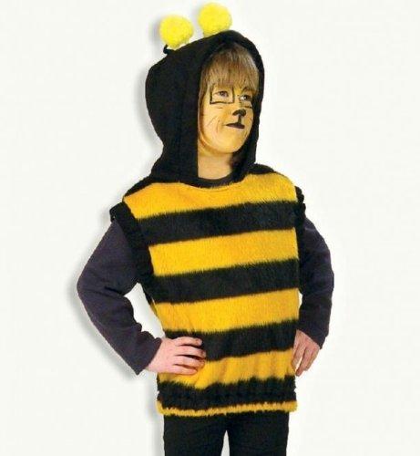 Bienchen Biene Oberteil Plüsch Tier Kinder Kostüm Gr 98