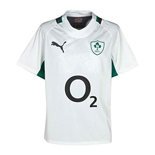Puma Maillot Test de l'Equipe de Rugby d'Irlande Saison 2011/2012 Exterieur pour Adulte - Weiãÿ, S