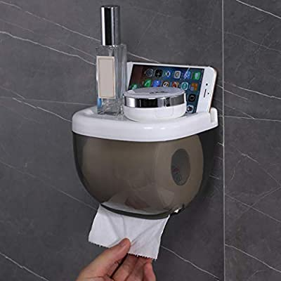Toilet Paper Holder - Wall Mounted Waterproof P...