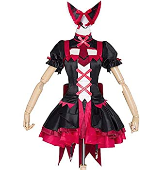Poetic Walk Anime Gate Jieitai Kanochi Nite Kaku Rory Mercury Cosplay Costume  Custom-Made Black&Red