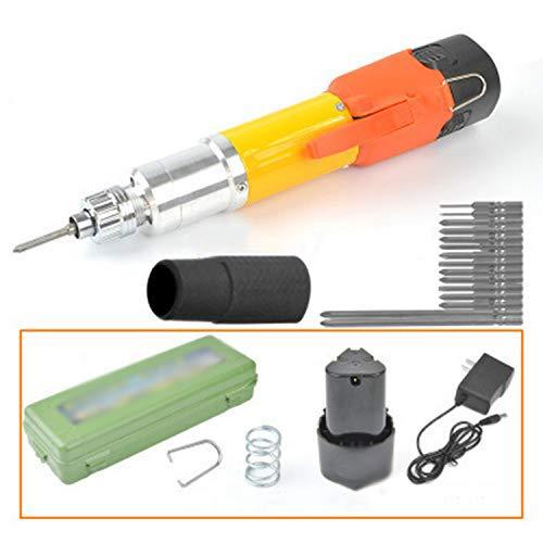 Accu-draaistool 3,7 V Li-On drie-versnellingen, met 31-stuk draaiverpakking 3/32 inch (2,3 mm) spantang grootte - ideaal voor kleine klusjes A