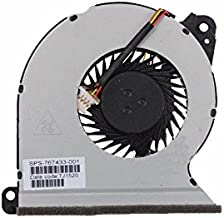 Z-one Fan Replacement for HP ProBook 440 G2 445 G2 450 G2 455 G2 470 G2 Series CPU Cooling Fan 767433-001 4-Wire 4-Pin
